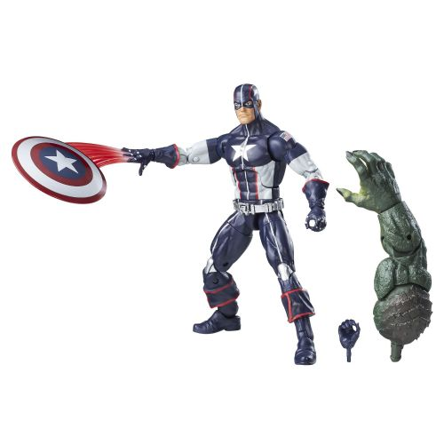 Marvel Legends Secret War 6 inch Captain America